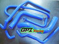 silicone heater radiator hose for HOLDEN VN VP VR VS V8 5.0L SS 304 BLUE