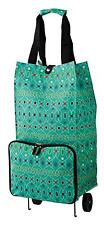 Ulster Weavers Graphic Lace Shopping Trolley Bag Collapsible Foldable 9GPL01