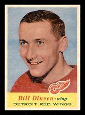 BILL DINEEN 57-58 TOPPS 1957-58 NO 49 EX+ 15492