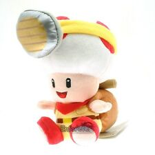 "7"" New Super Mario Bros Sitting Treasure Tracker Captain Toad Plush Doll^MX3105"