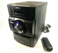 New listing Sony 540W Bookshelf Stereo System Mhc-Ec909iP Receiver & Remote Only, No Speaker