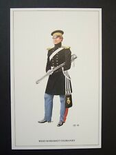 MILITARY POSTCARD- OFFICER WEST SOMERSET IMPERIAL YEOMANRY   c 1846