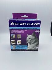 Feliway Classic 30 Day Starter for Cats Plug In Diffuser & Refill 48 ml #1272