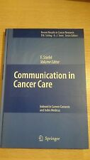 Communication in Cancer Care - Ex Library Book, very good