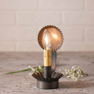 Chamberstick small Accent Light in Kettle Black Tin