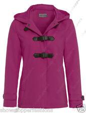 Mujer Invierno Bolso Abrigo Con Capucha Chaqueta Gabardina Talla 8 10 12 14