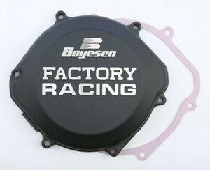 Honda CR500 1987-2001 Boyesen Factory Racing Clutch Cover Black CR 500 CC02B