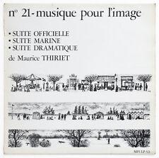 MAURICE THIRIET suites library french 1969 BIEM musique pour l'image n°21 FD LP