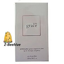 Philosophy Pure Grace Eau de Parfum Spray JUMBO 4.0 oz. SEALED Perfume
