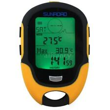 SunRoad Fr500 LCD Digital Altimeter Barometer Compass Thermometerled Torch W8p6