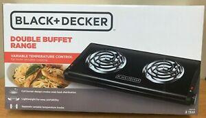 Black & Decker Double Buffet Range