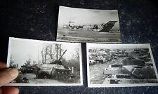 Débarquement du 6 Juin 1944 Barge de Débarquement Cimetière Tanks Sherman Panzer