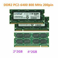lot New 4GB 8GB 20GB DDR2 PC2-6400S 800MHz 200pin Laptop SODIMM Memory RAM