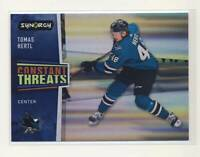 2020-21 Synergy Constant Threats #CT19 Tomas Hertl San Jose Sharks BX3