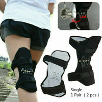 Super Lift Joint Support Knee Brace Pad Rebound Spring Force Running Leg Band UK