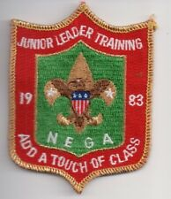 H BSA Boy Scout Northeast Georgia Council, 1983 Junior Leader Training, MINT