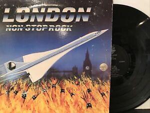 London – Non-Stop Rock LP 1985 Shrapnel Records – SH-1019 VG/VG