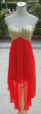 NWT WINDSOR $85 Coral / Gold Prom Dance Party Dress 7