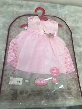 American Girl And Gotz Doll ~ Pink Dress Outfit Fit 18� dolls Brand New!