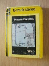 Genesis Trespass 8 Track cassette cartridge