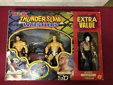 WCW Thunder Slam Vampiro Jeff Jarrett Buff Bagwell UK Exclusive Set ToyBiz RARE!