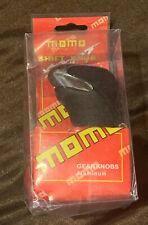 Momo Black Aluminum Universal Automatic Transmission Car Gear Stick Shift Knob