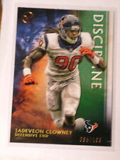 JADEVEON CLOWNEY 2015 TOPPS VALOR DISCIPLINE CARD LIMITED 065/199 HOUSTON TEXANS