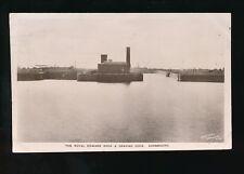 Gloucestershire Glos AVONMOUTH The Royal Edward & Graving Dock 1908 RP PPC