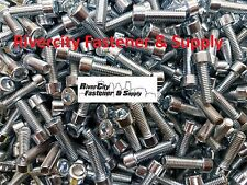 (20) M6-1.0x20mm Socket / Allen Head Cap Screw Zinc Plated Steel M6x20 mm