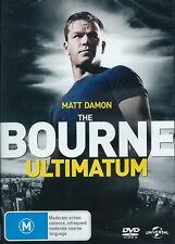 The Bourne Ultimatum - Action / Thriller / Chase - Matt Damon - NEW DVD