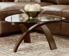 Wooden Cocktail Table Mid Century Modern Coffee Table Living Room Furniture NEW