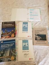 Civil Engineering PE Exam: TABBED Reference Books and formulas ready to study