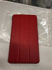 """IVSO Acer Iconia MT8163 7"""" Tablet FOLIO Stand Book Cover Case RED"""