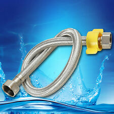 """19.7"""" x G1/2 Water Heaters Toilet Tap Faucet Connector Bidet Braided Hose"""