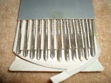 NOS Set of 12 Spiral Pointed Taps 5/16-18 Ground Thread HSS