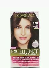 L'Oreal Paris Excellence Creme Hair Color, 4AR Dark Chocolate Brown
