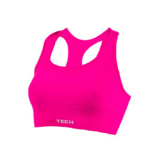 XTECH TOP DOUBLE Fuxia Fluo Ciclismo Running XDRY/XPRO/XCARBON/LYCRA TG S/M