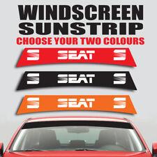 Seat windscreen sunstrip car ibiza leon graphics decal sticker ss20