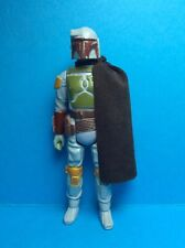 VINTAGE STAR WARS KENNER ACCESSORY-BOBA FETT CUSTOM MOVIE STYLE CAPE..CHOC
