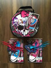 Monster High Gift Bundle Bag And Shoelace Set New Xmas Girls cosmetic