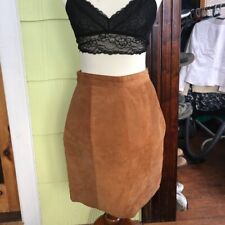 EUC The Limited leather skirt size 10