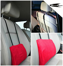 Lower Back Lumbar Support Cushion Pillow For Car Seat Office Chair RED