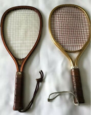 2-Vintage Racquetball Rackets 1-Ektelon-Sprint 1-Marcraft-Vecta 18 1/2