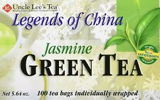 Uncle Lee's Tea Legends of China Jasmine Green Tea 100 teabags