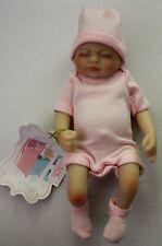 "NPK Baby Doll Lifelike Realistic Reborn Doll 10"" Silicone Vinyl Body"