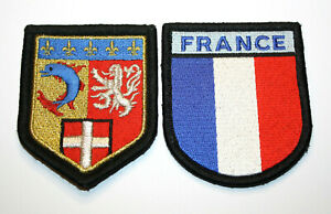 Set 2 Patch France Police Gendarmerie Nationale