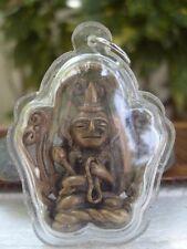 Shin Upagutta Buddhist Arahant  Brass Amulet Pendant