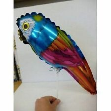 "15"" Colourful Parrot Shaped Mini Foil Balloon (M10)"