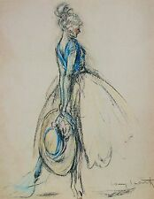 Louis Icart LES CHAPEAU Signed Limited Edition Giclee Art