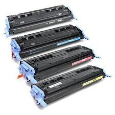 4 Toner Cartridges for HP Color LaserJet Q6000A Q6001A Q6002A Q6003A HP 124A